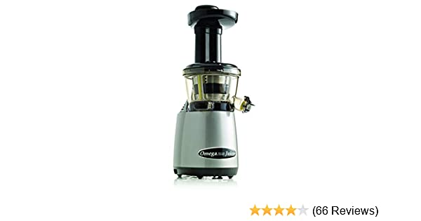 Omega VRT402R HD Juicer Vertical with Cap for Juicing 21.6 x 17.8 x 39.4 cm Grey